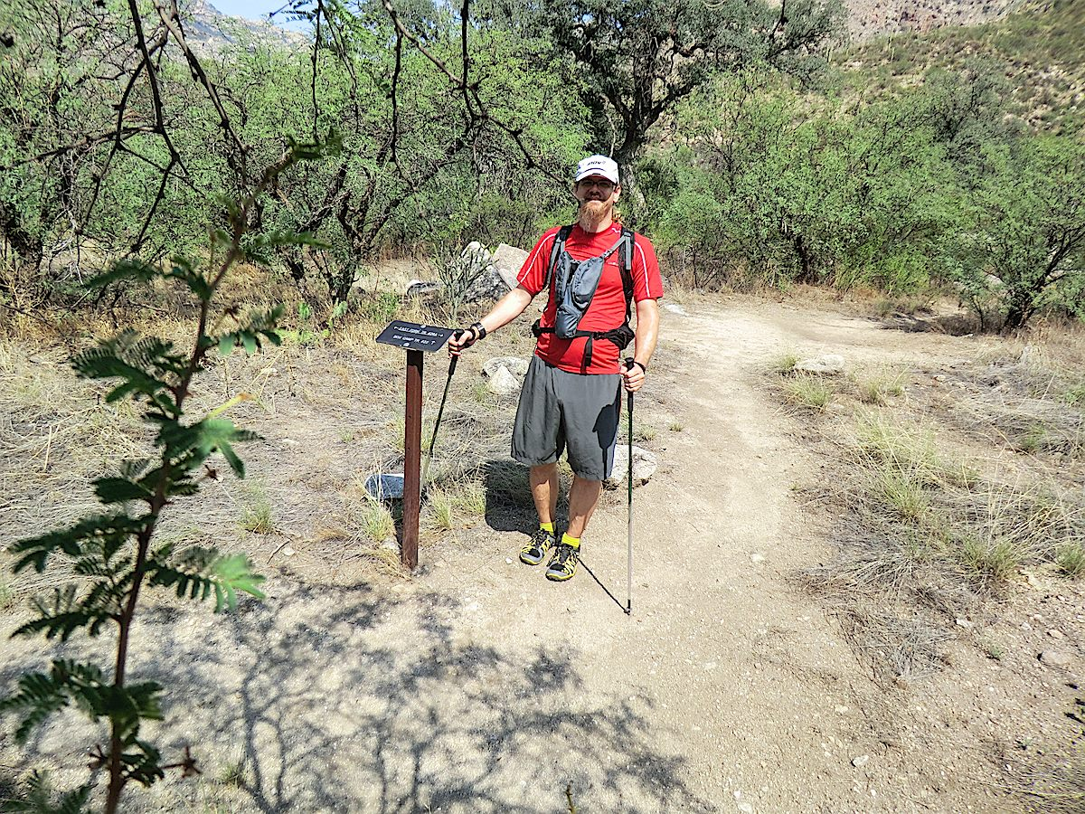 The junction of the East Fork and Box Camp Trails. August 2013.